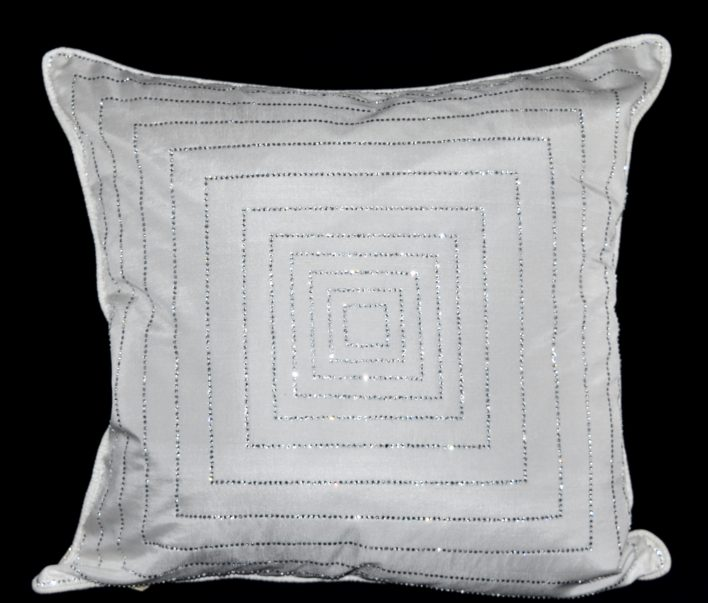 White Dazzle Pillow