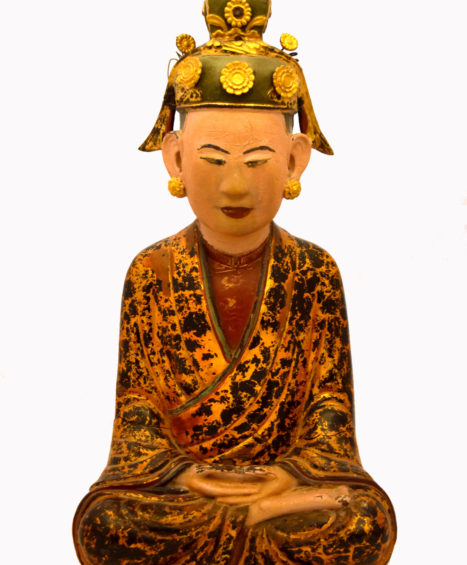 19th Century Buddha's Mother Sculpture