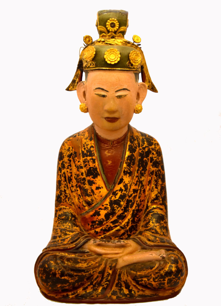 19th Century Buddha's Mother Sculpture
