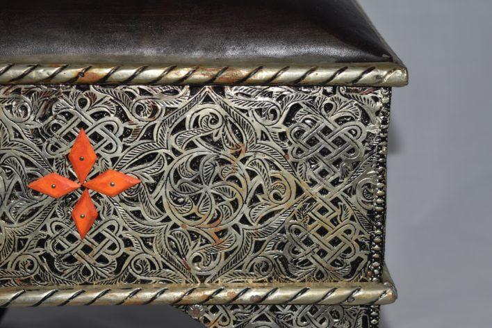 Moroccan Metalwork Stool